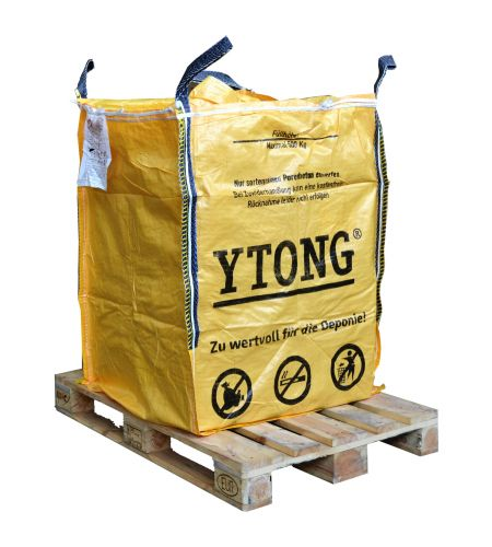 Ytong Big Bag - zur einfachen Rohstoffrückgabe
