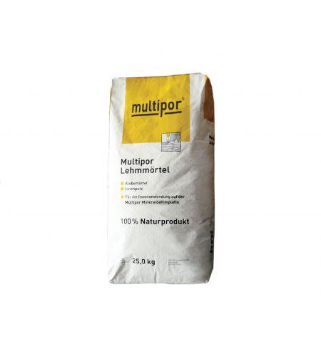 Mulitpor Lehmmörtel 25kg