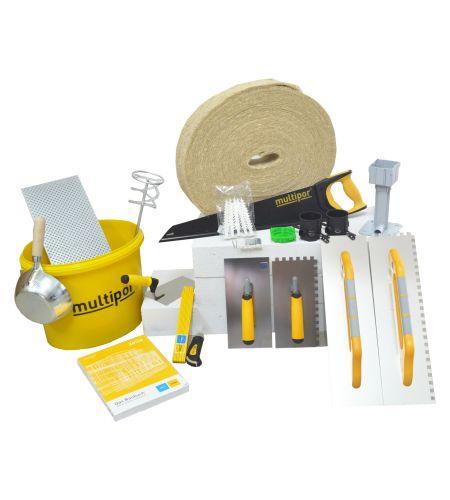Multipor Werkzeugset und Grundausstattung - 20 tlg.
